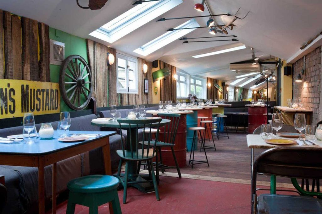 The Shed: the Gladwins first restaurant in Notting Hill