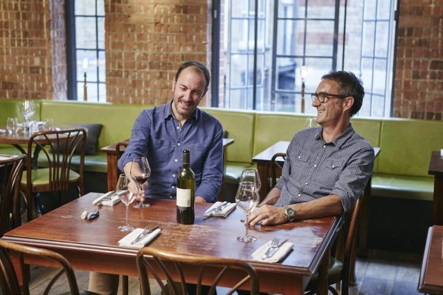 Vinoteca's Charlie Young, left, and Brett Woonton have been setting the bar, for its competition since 2005