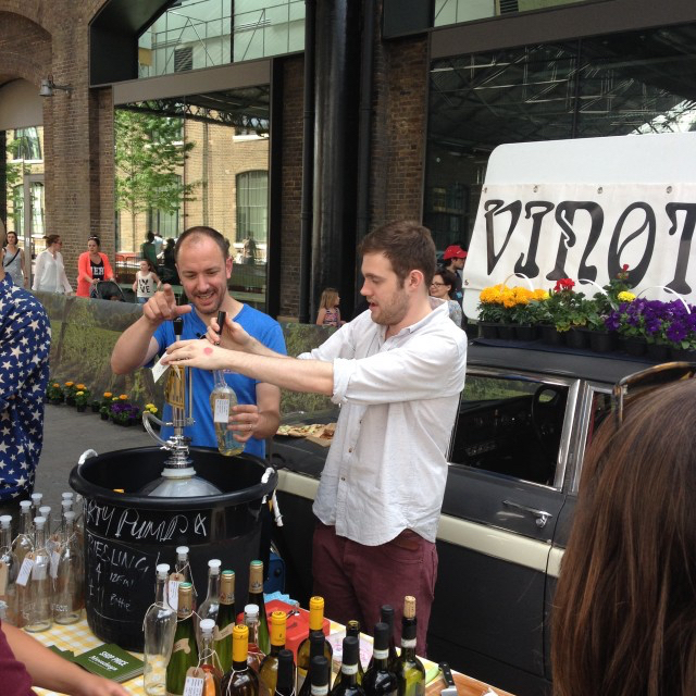 Doing things differently and being the first to try unusual wines by keg and tap is what gives Vinoteca its edge