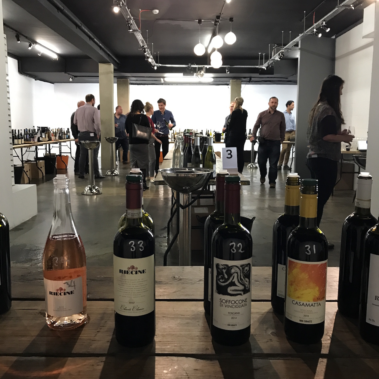 Artisanal producers were the focus of the latest tasting from