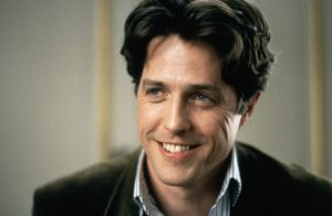 Hugh Grant with his early sparkling looks