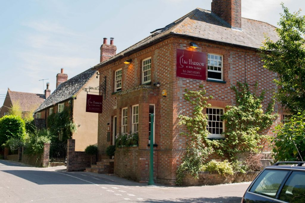 Roger Jones is happy to be working far more with German wines at the Harrow at Little Bedwyn