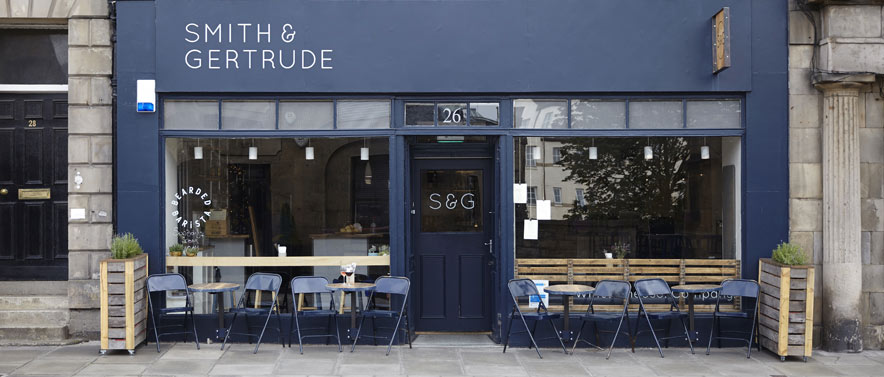 Smith & Gertrude - Edinburgh's answer to the laid back bars Down Under