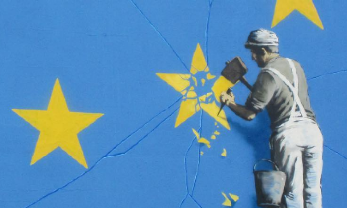 Brexit according to Banksy