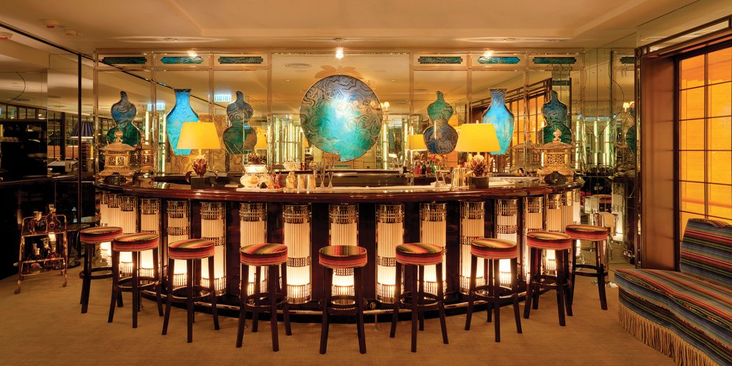 China Tang at the Dorchester hotel was one of the first to take on Moser's Chinese range