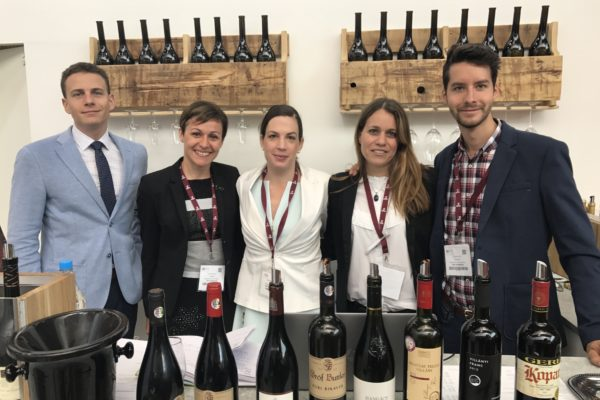Hungarian Tourism Agency and Wines of Hungary Team