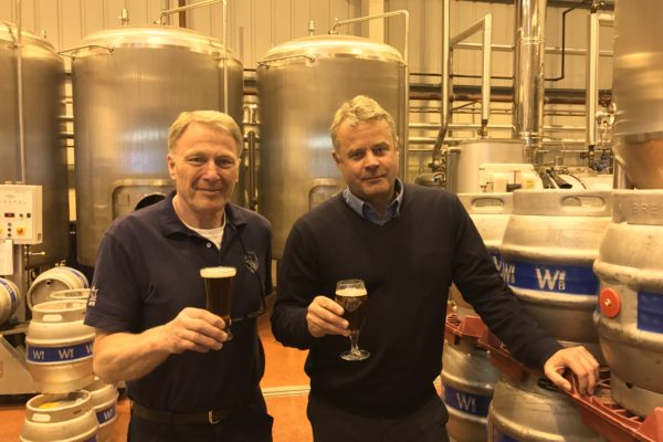 Master brewer Derek Prentice says he it has been like playing with a new toy building up the brewery