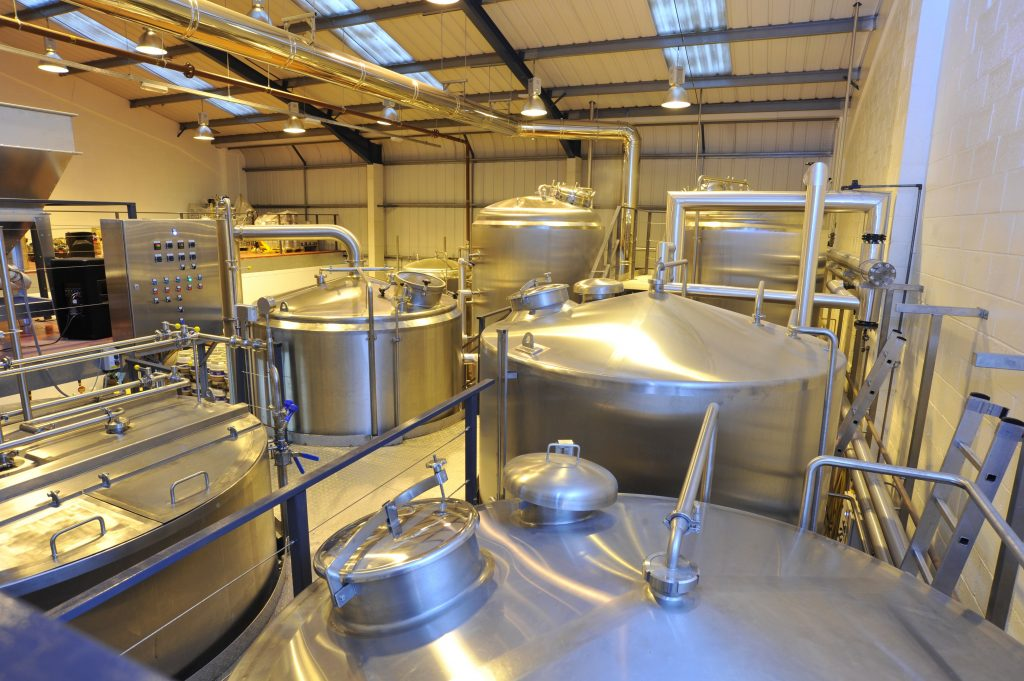 The purpose built Wimbledon Brewery has been made to exact specifications