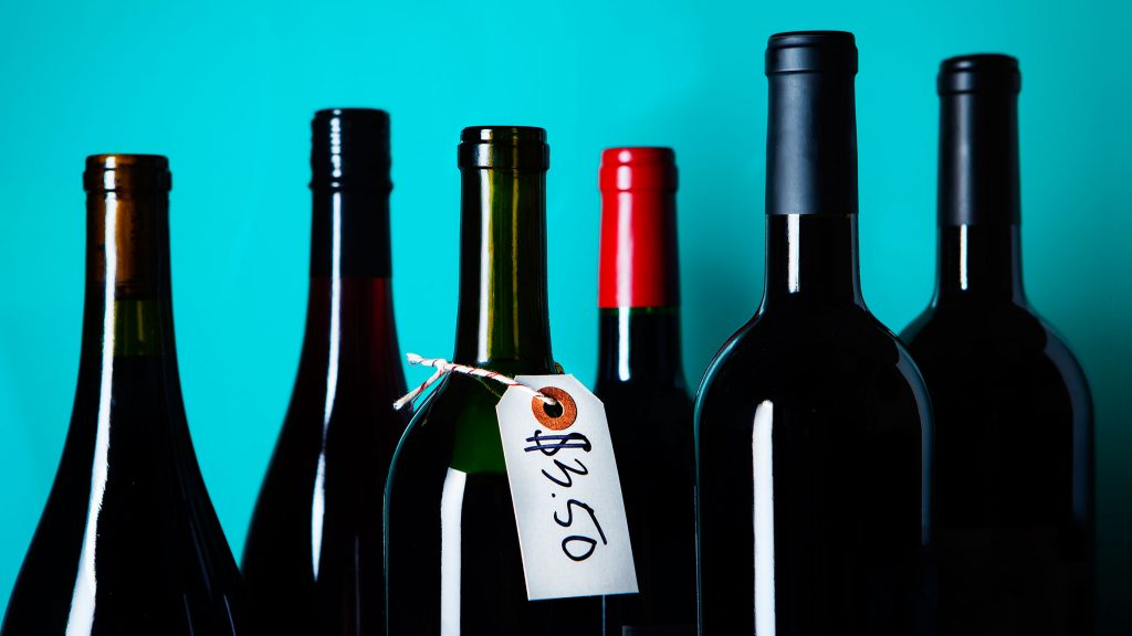 How much you are prepared to pay for a bottle of wine is very different to other people