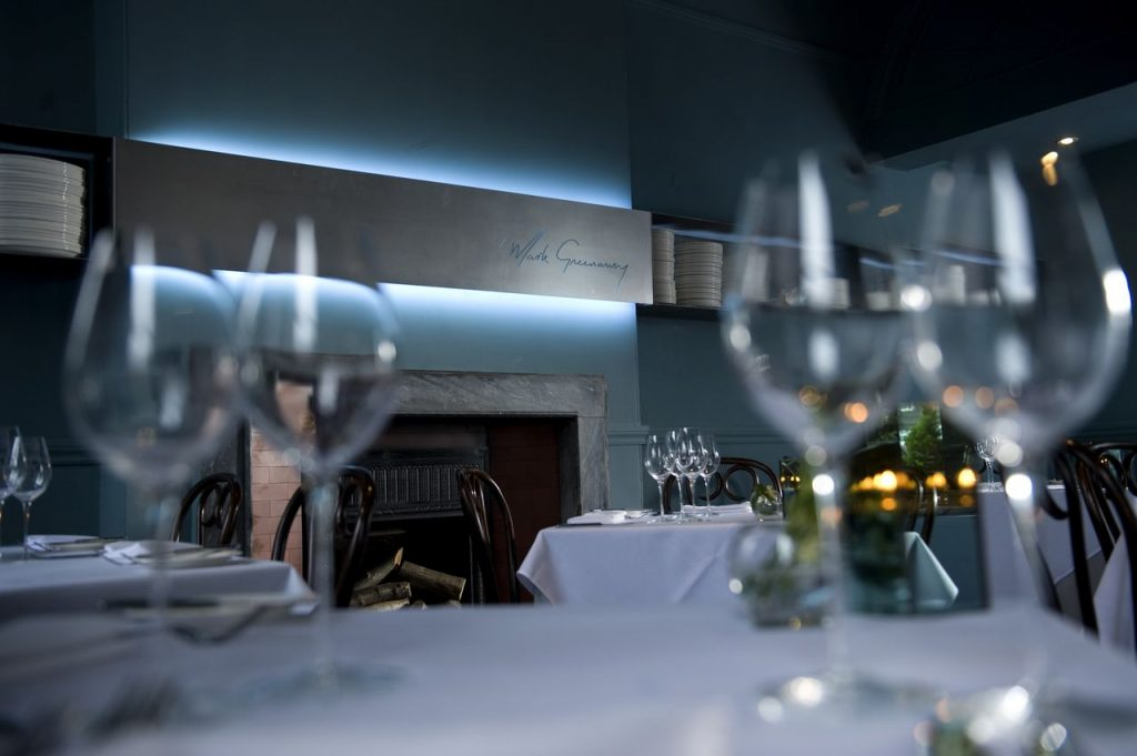 The restaurant is as popular for business lunches as it is for amongst a loyal stable of regular customers