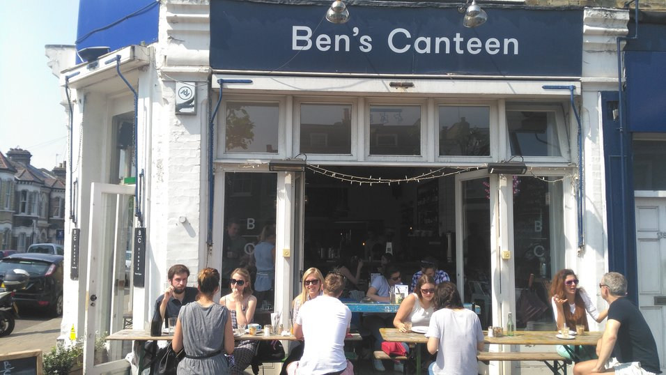 Ben's Canteen is brining premium burgers and wine to London's Clapham Junction and Earlsfield