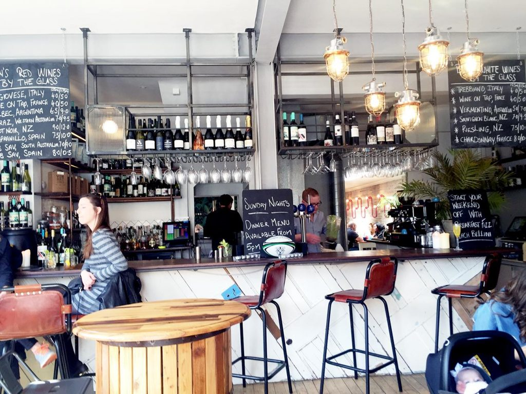 There is certainly an Australian influence to Ben's Canteen's look, feel and offer