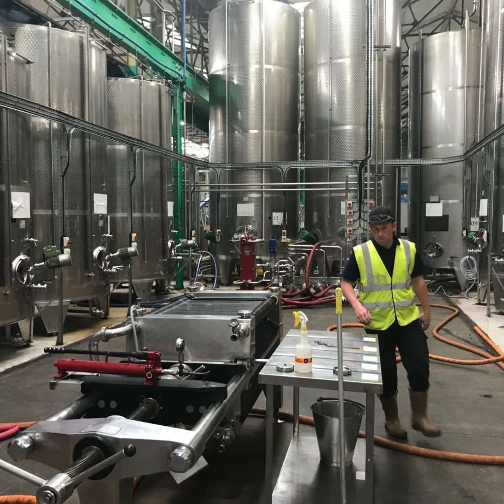 Greencroft Bottling's state-of-the art facility is one of only two BRC AA+ rating plants in the country