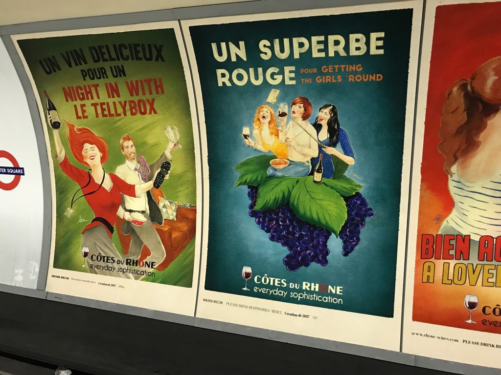 Going underground with Inter Rhone and its great Franglais campaign