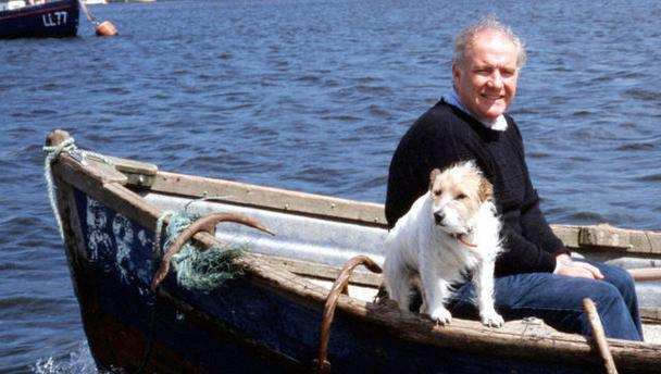 Rick Stein and the dog that inspired Chalky's Bite