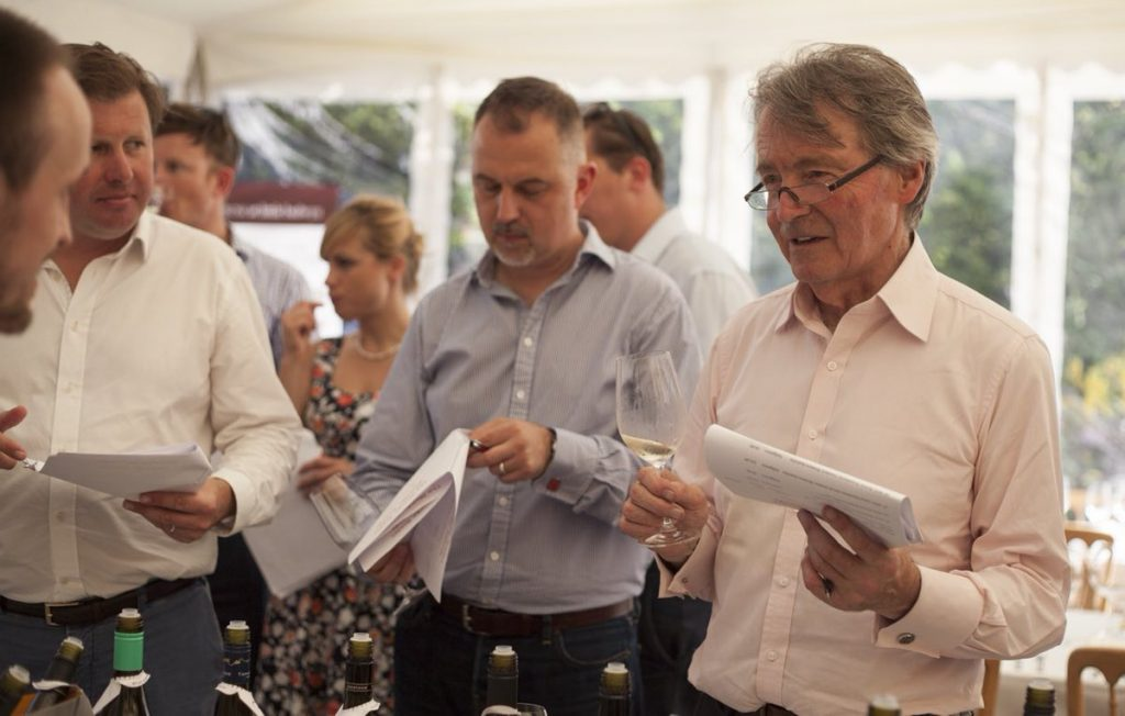 Decanter's legendary Steven Spurrier is the Mamba's head judge
