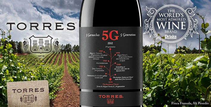 """Torres can teach the world of wine a great deal about how to reach all wine consumers and yet still keep its """"quality"""" status"""