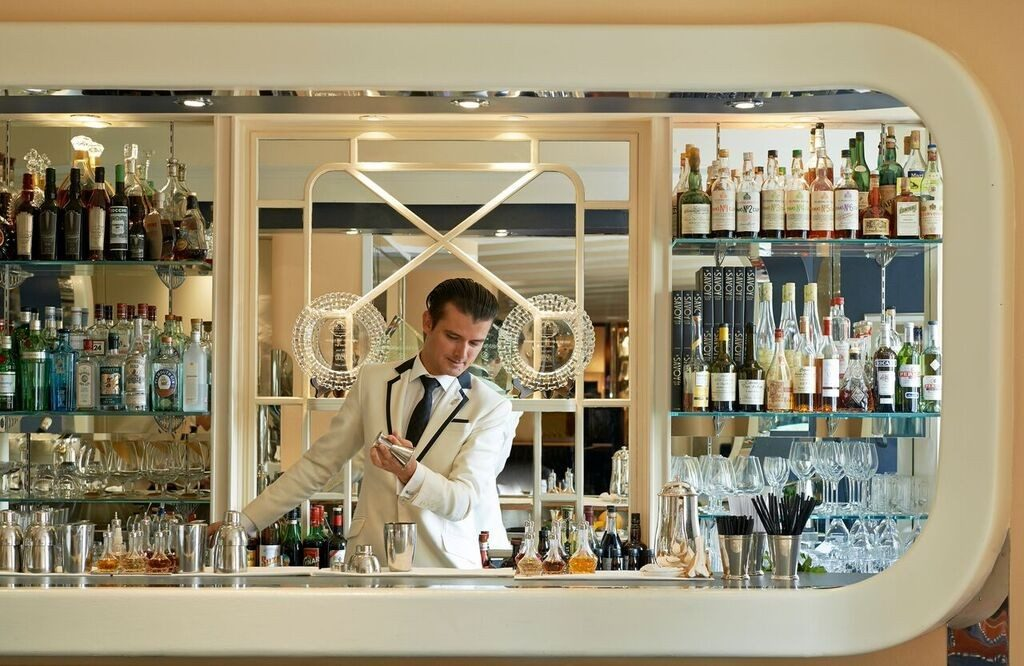 The American Bar at the Savoy has trained many of the world's leading bartenders