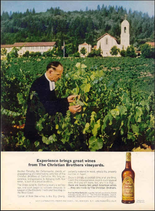 Has traditional wine advertising really moved on from this classic from the 1970s