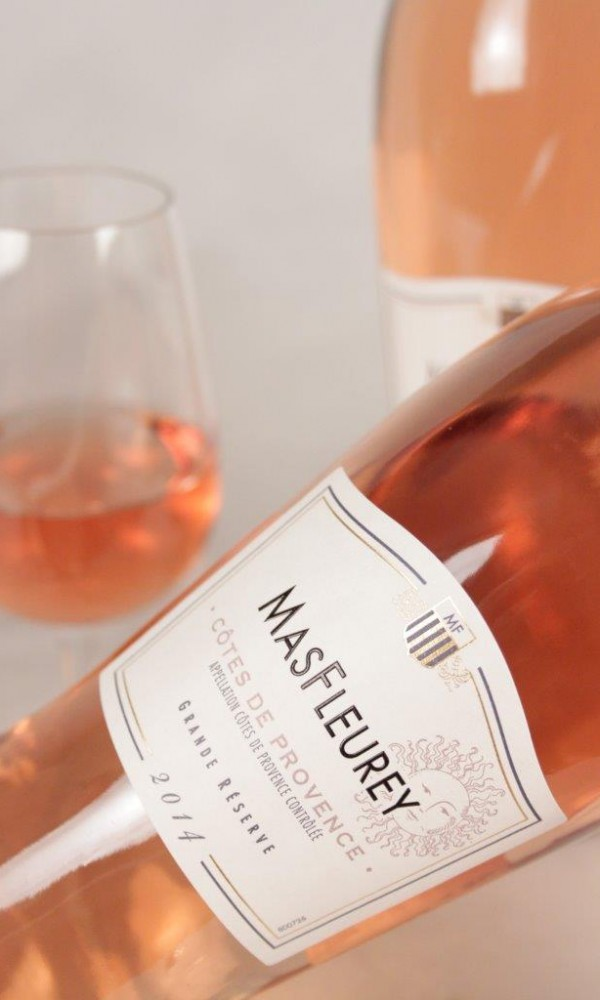 MasFleurey from Castel Frères is a good example of the kind of rosé wines that are performing so well this summer