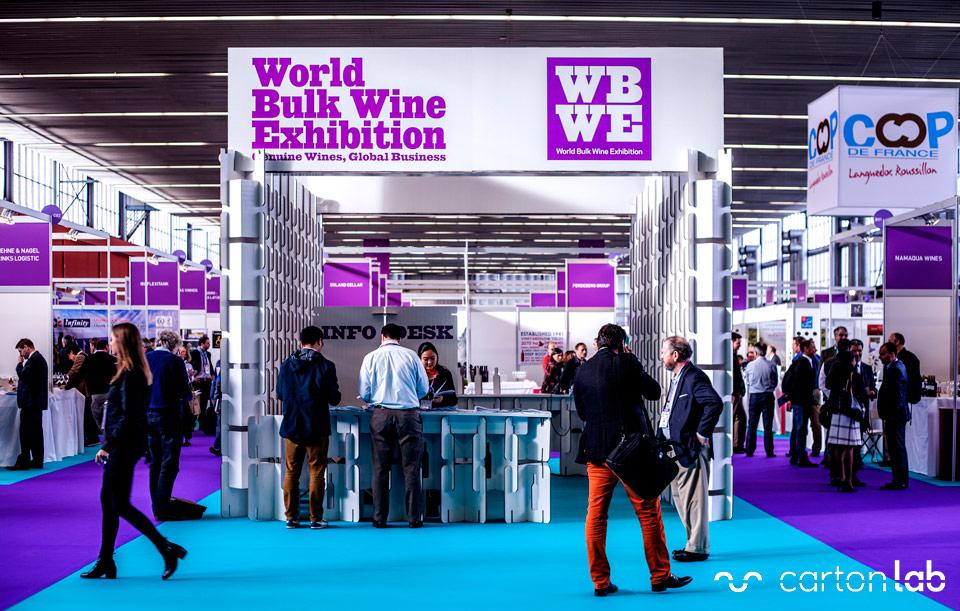 The bulk wine industry has developed in to a major global wine business in its own right with its own dedicated shows requiring specialist businesses and skills