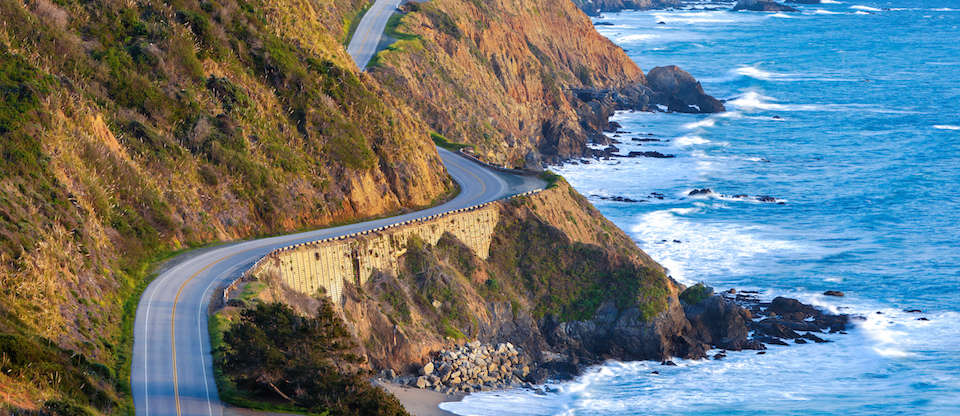 Just get in your car and explore classic drives like along the Big Sur...