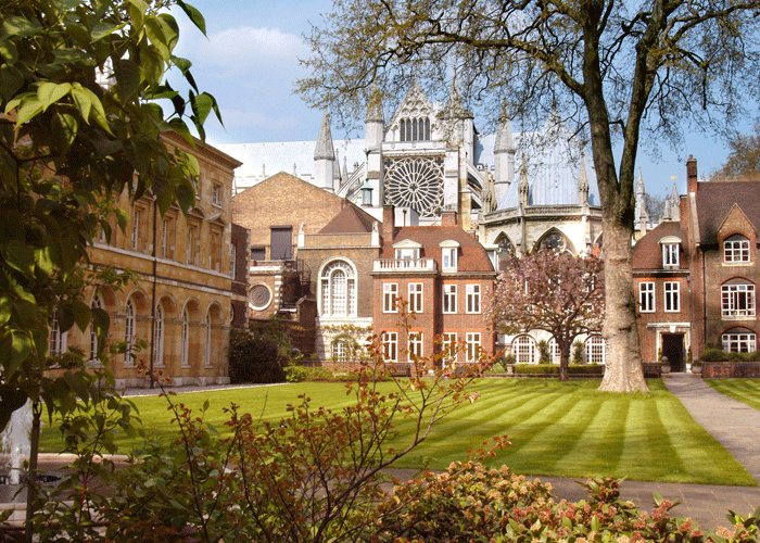 College Garden at Westminster Abbey will provide the backdrop for the California tasting on September 27