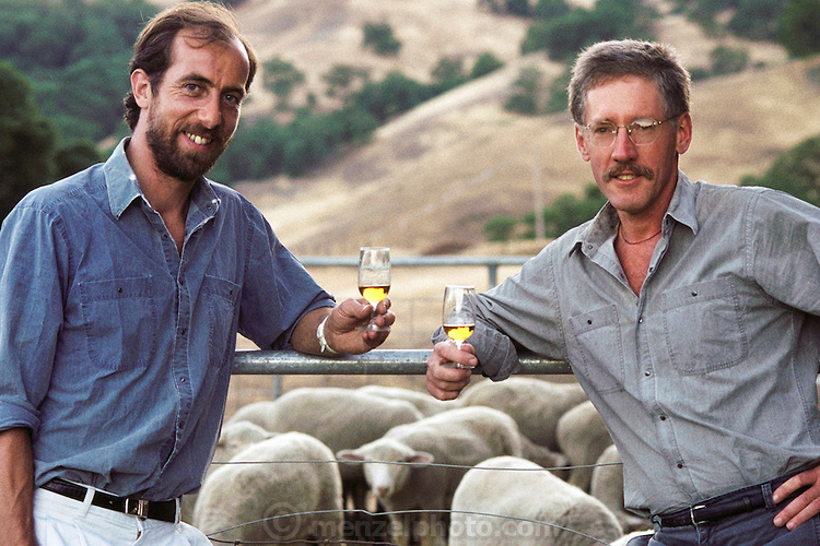Back in their days when Ansley Coale and Hubert Germain-Robin created the first hand-distilled Alambic brandy at their distillery on a sheep ranch in Ukiah, California.