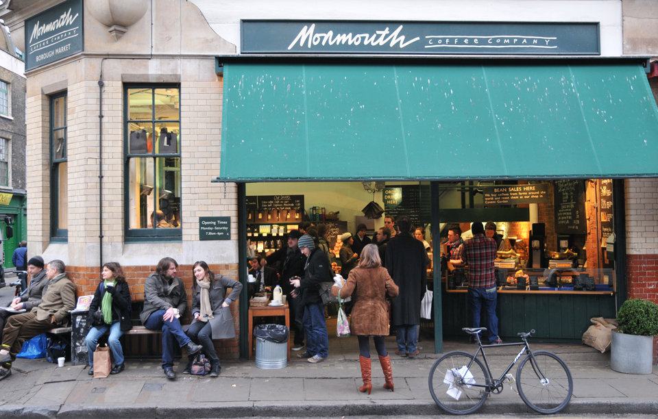 Monmouth coffee: why Ingham wants to be part of its tribe