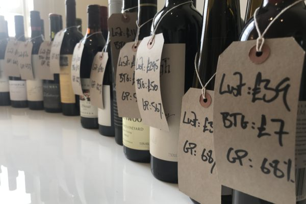 Jonny Raggett at Chiltern Firehouse was able to assess each Negociants wine by what list price it could have, the cost per glass and average GP it could reach