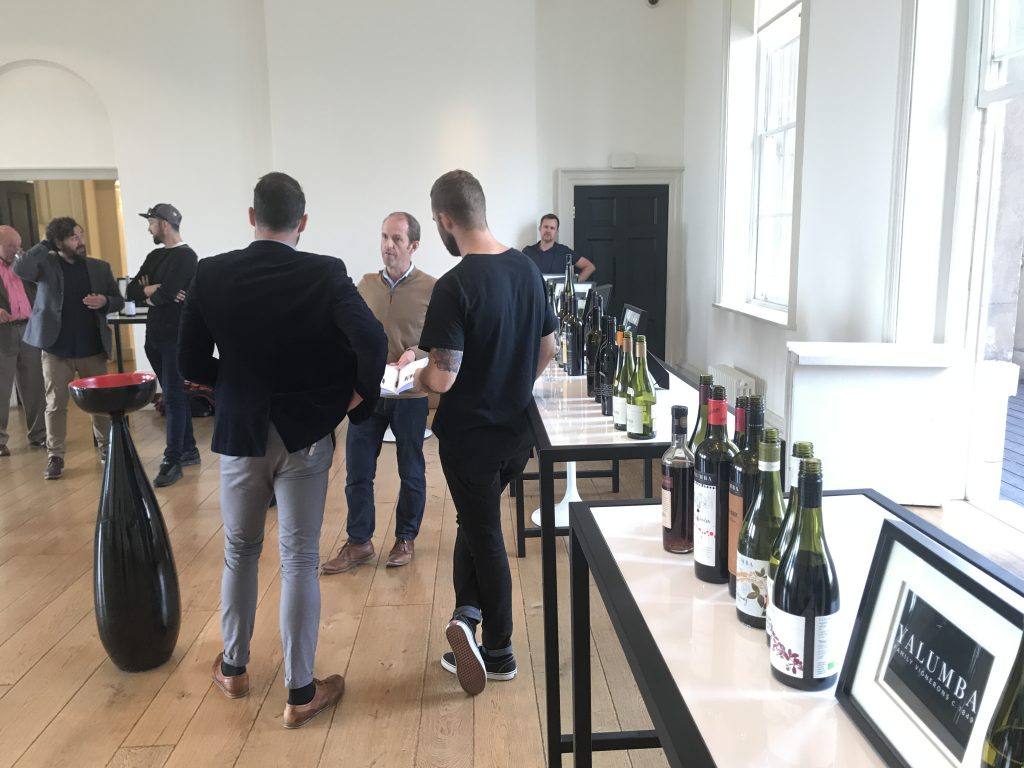 The main portfolio tasting at Negociants' Somerset House tasting this week