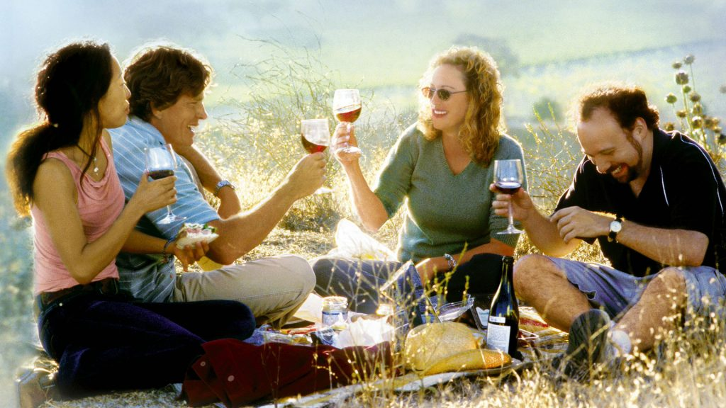 The movie poster picture that helped make Sideways a global success and put Pinot Noir on wine lists the world over