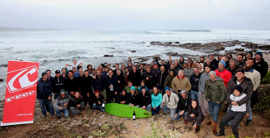 Work hard, play hard...South African winemakers are pretty unique in how much they collaborate in their winemaking but also having fun and relaxing - and surfing - together