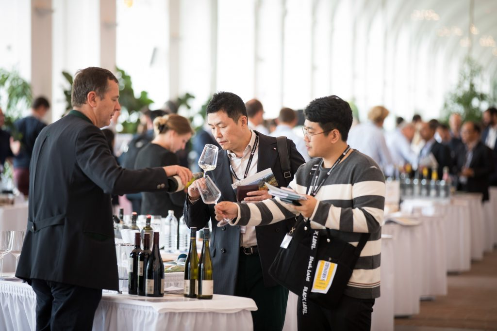 Vinexpo Explorer brought a number of buyers from across Asia and China to Austria for the first time