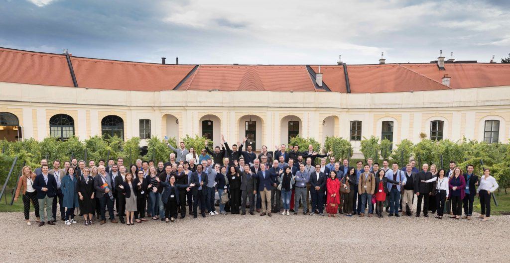 One big happy family: Vinexpo Explorer brought buyers together from over 30 countries