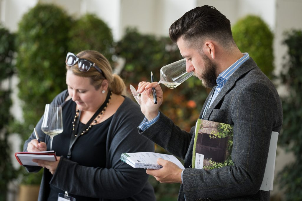 The Wine Society's Sarah Knowles MW was at the Explorer event to hand over Austrian wine buying responsibilities to Freddy Bulmer