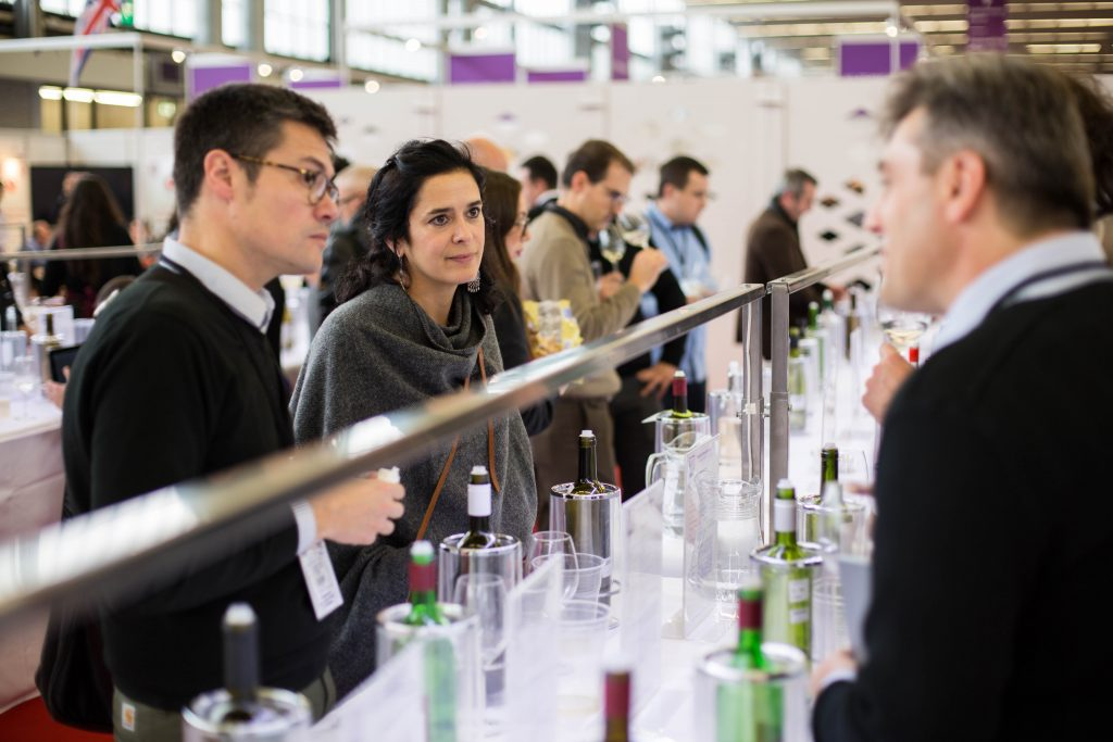 Up to 80% of the world's bulk wine is available to trade at the World Bulk Wine Exhibition