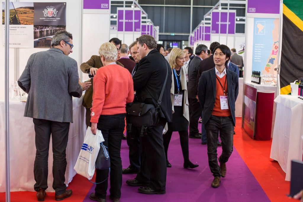 The WBWE attracts brokers, buyers and producers from all over the world