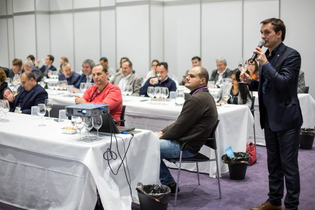 The WBWE also provides a platform for debate and sharing ideas across bulk wine