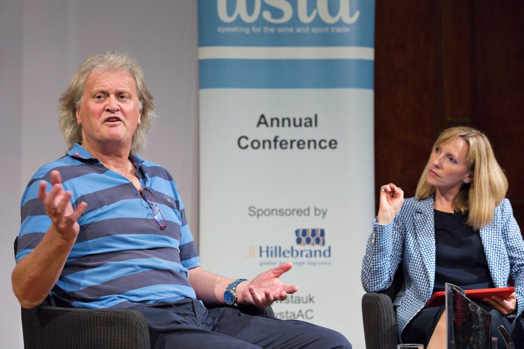 Brexit holds no fears for Wetherspoons chief, Tim Martin, but he would like to see steps taken to help employment and access to workers