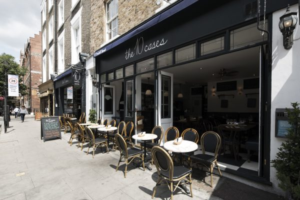 The terrace, the 10 Cases, 16 Endell St, London WC2H 9BD.