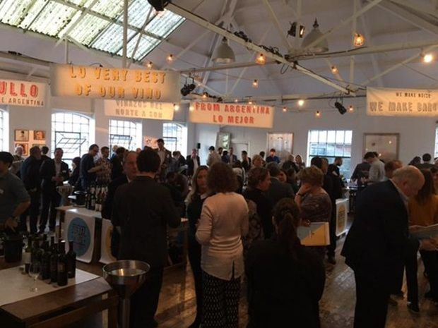 Last year's trade event for Barullo in Hoxton