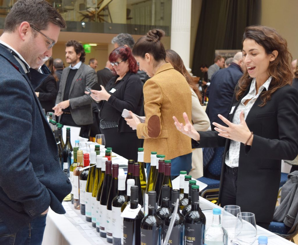 Deciding which wines stand out at a trade wine does not always mean they are the wines consumers want to drink