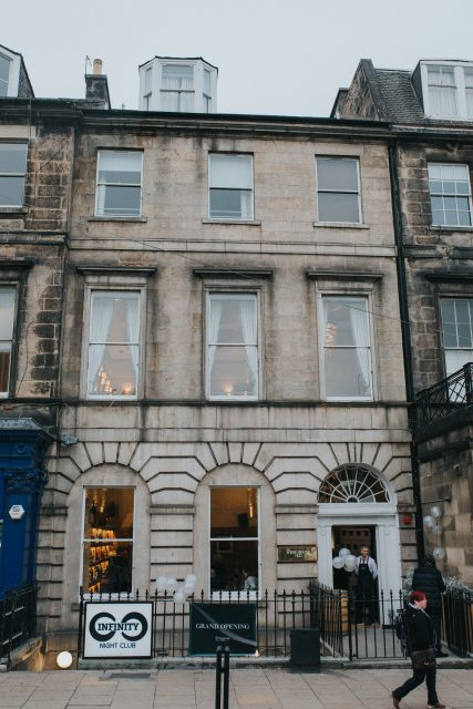 The newly opened Wine House Hotel in Edinburgh's New Town