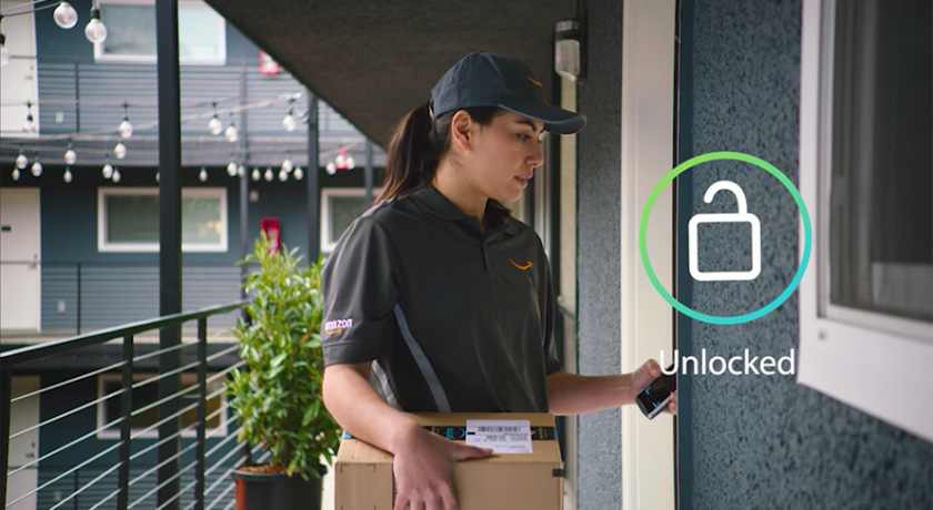 Amazon is now so engrained in our lives that it is trialling a new service whereby we will give permission to its delivery drivers to come in to our homes if we are out.