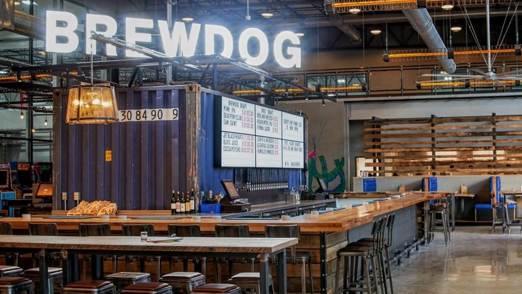 Brewdog has succeeded in expanded its brand name in to being a bar in its own right as well as making the beers it sells