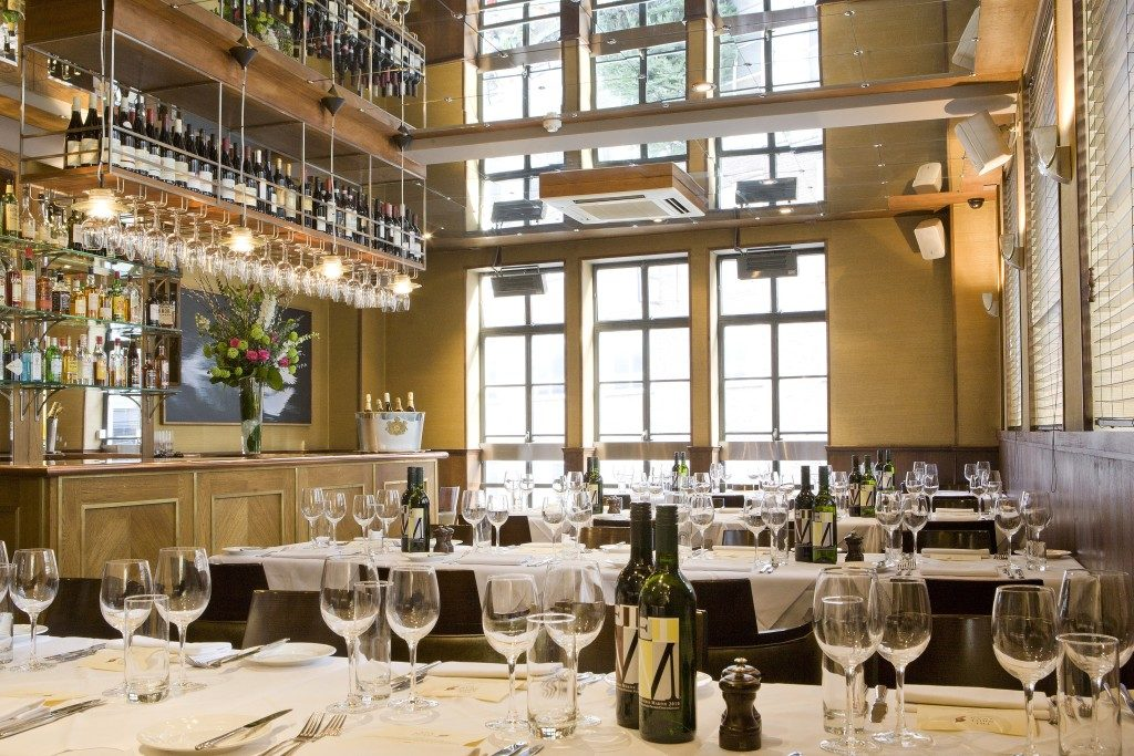 Rioja wines are a key part of the wines lists across ETM's 14 pubs like the White Swan in Fleet Street, London