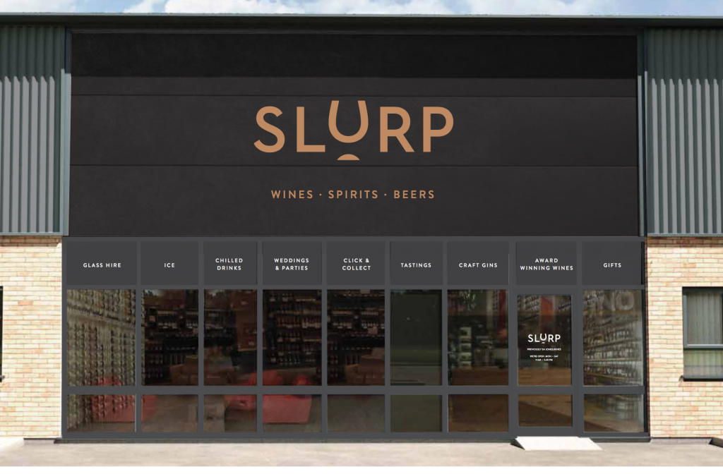 One of Slurp's standalone retail stores
