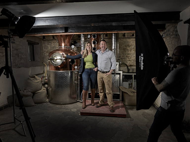 Behind the scenes with Tom and Tina Warner