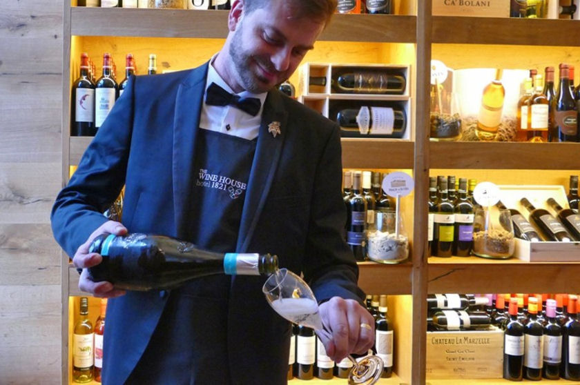 The hotel offers Zonin wines by the glass or bottle, as well as a take away option